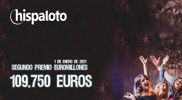 Segundo premio Euromillones, 109.750 euros